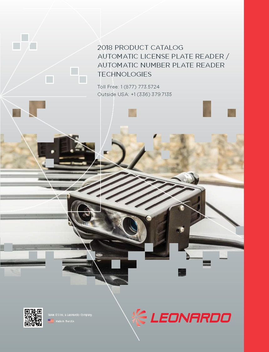ELSAG 2018 ALPR Product Catalog