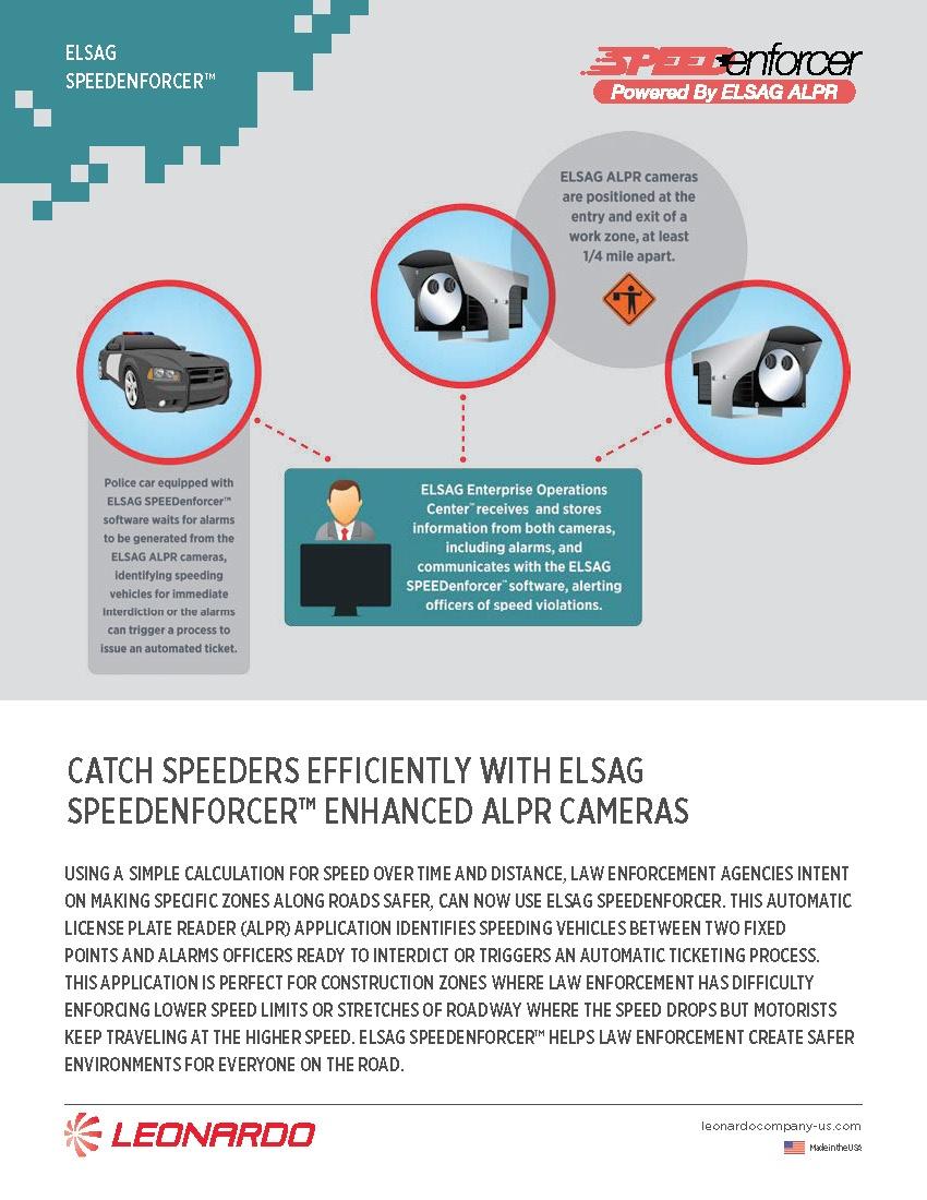 ELSAG SpeedEnforcer™ Sell Sheet 2018